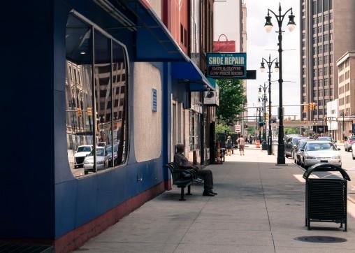 Detroit, downtown