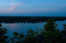 Glenora-Adolphustown ferry route