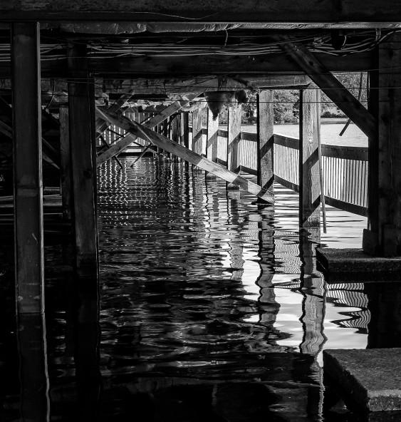 Jetty reflection #1