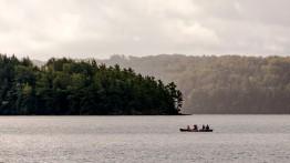 Muskoka, canoeists
