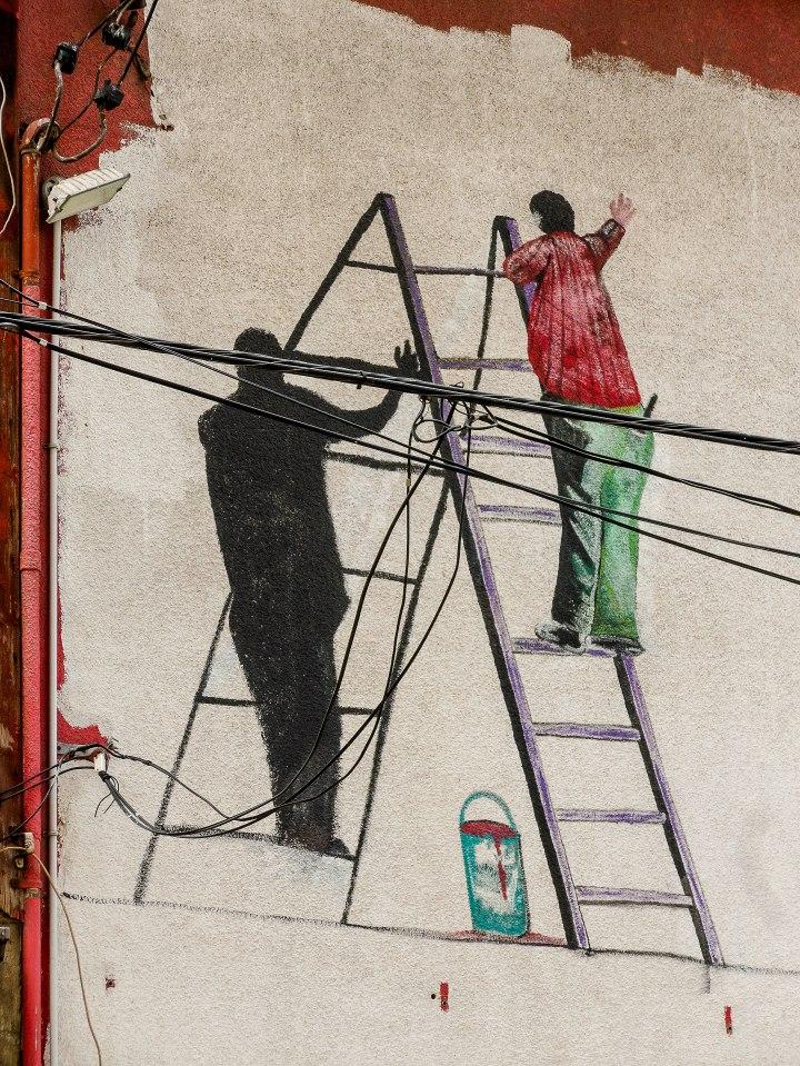 Street Art, Toronto - Ladders.jpg