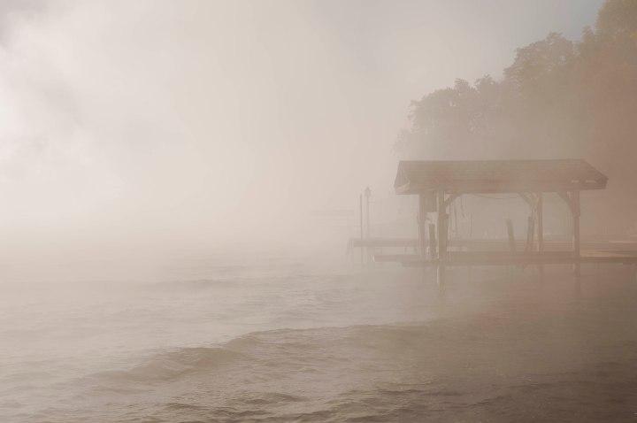 Fog, Seneca Lake