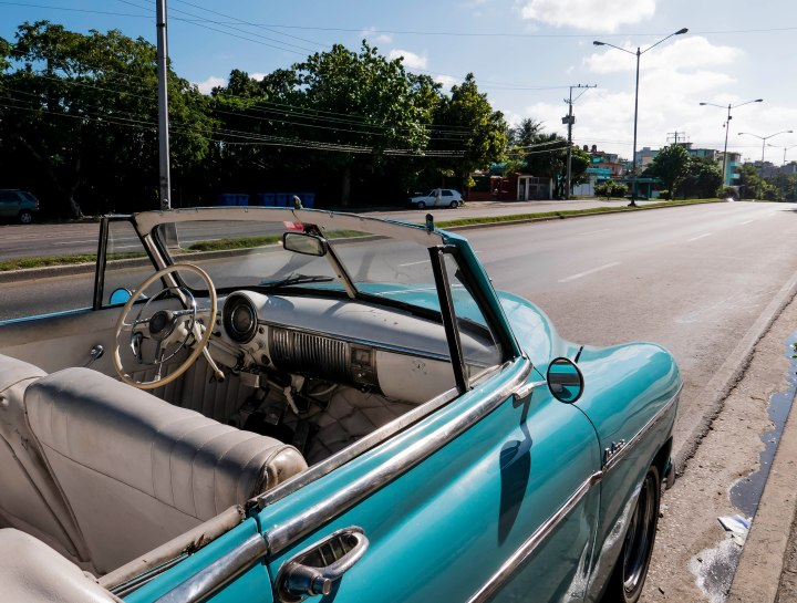Cars in colour – images from Havana