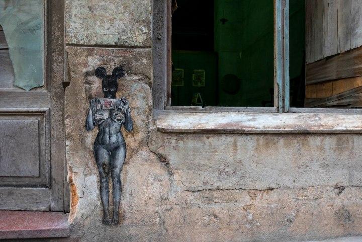 Habana Vieja: twomurals