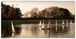 Model yachts, Emmarentia # 2