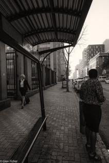 Heading to court, Madiba Street