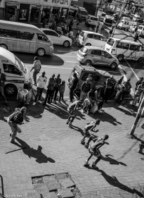 Street dancers, Newtown