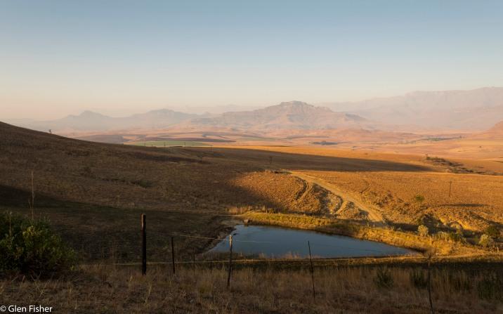 Dawn, Drakensberg # 4