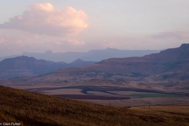 Dusk, Drakensberg # 2