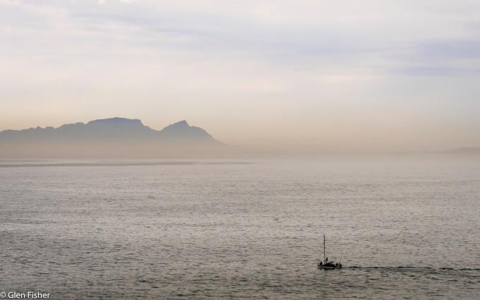 On False Bay water