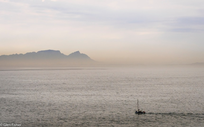 On False Bay water