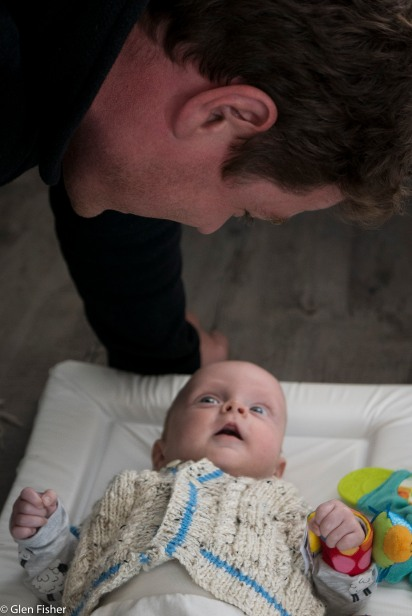 Gabriel and his dad # 2