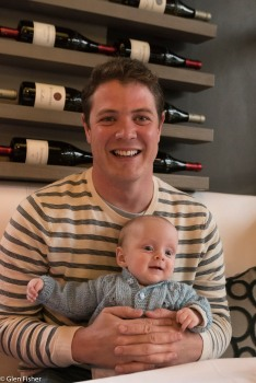 Gabriel and his dad