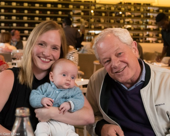 Hayley, Gabriel and grandad