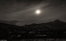 Moon over Clarens
