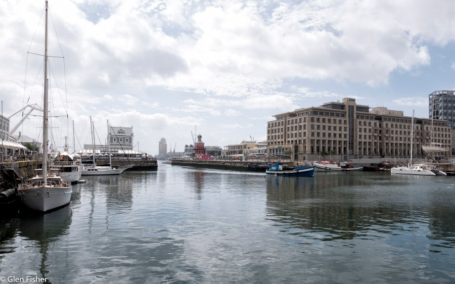 Toward the Clock Tower, Cape Town Harbour