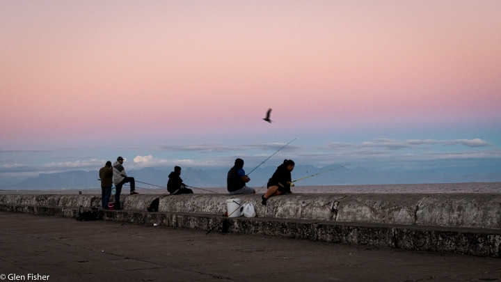 Dusk, Kalk Bay – the follow-on