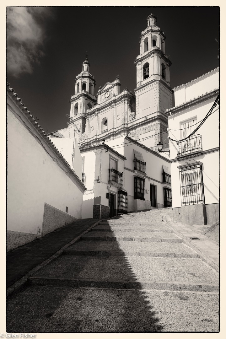 Olvera, Spain – the Iglesia de la Encarnation