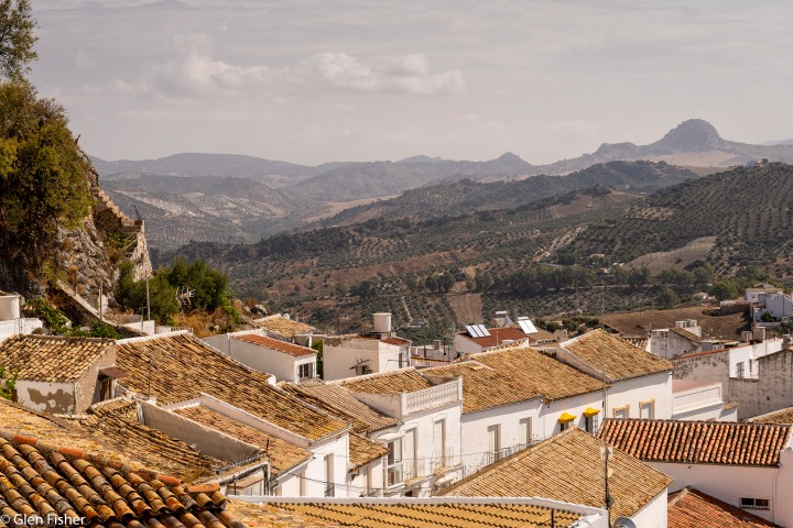 Olvera – rooftops and street view
