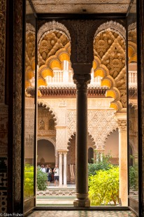 Arch and Pillar, Real Alcazar
