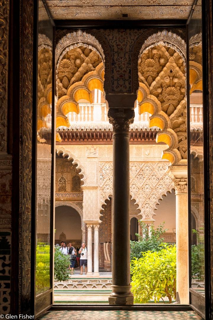 Real Alcazar – Arches, Tiles,Ceilings