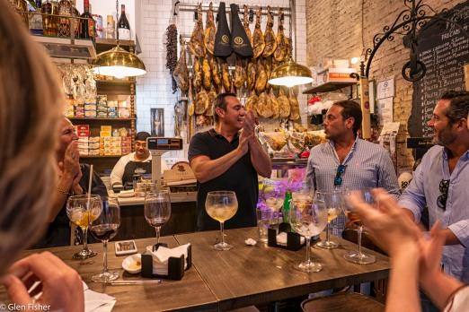 Sevilla - our favourite tapas bar