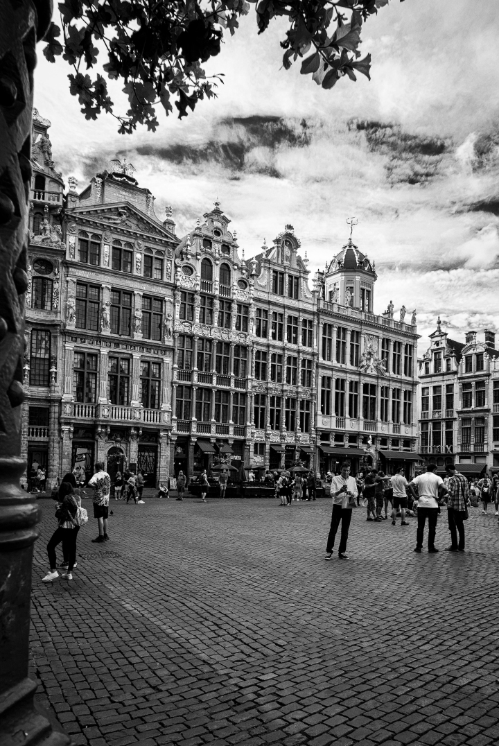 Brussels in Black-and-White