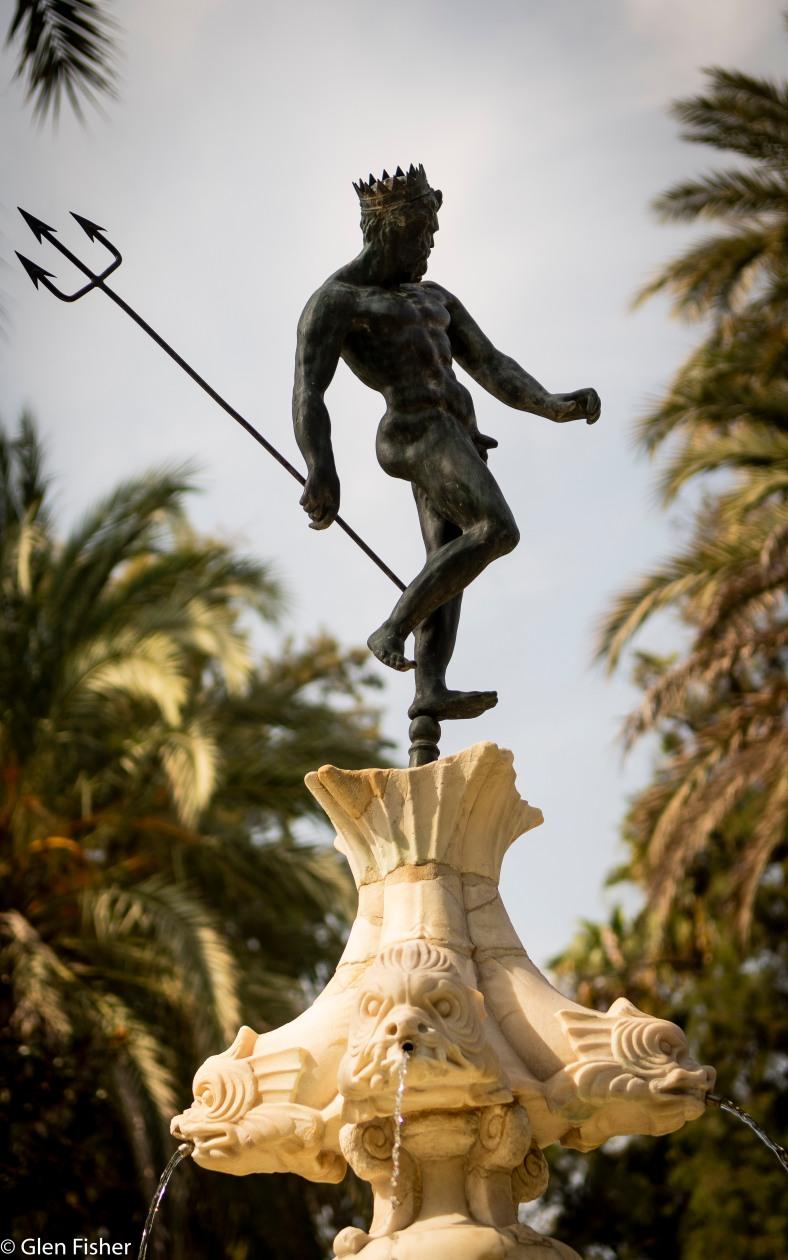 Fountain, Gardens of the Real Alcazar.jpg