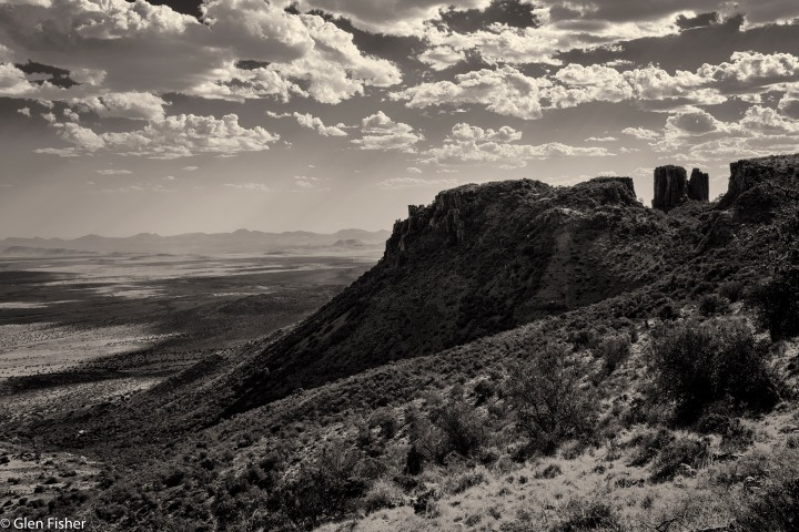 Black and White Landscapes – Plains of Camdeboo and Valley of Desolation