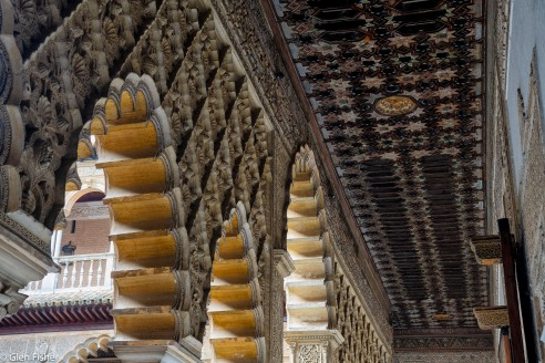 Ceiling and Arches, Real Alcazar