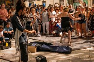 Street performance # 2 Madrid