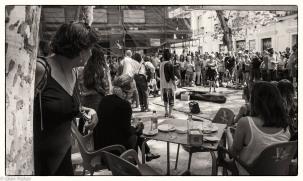 Street performance, Madrid